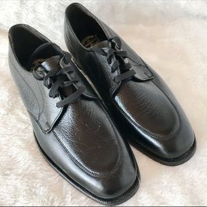 Florsheim Mens Shoes New Size 8 F Black Work Dress
